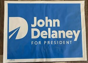 Maryland John Delaney 2020 Presidental Candidate Official Campaign Button