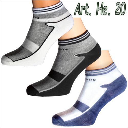 1-24 Paire Hommes Chaussettes Sneaker Femmes kurzsocken Sport polarzip à Partir De 0,79 € P Paire