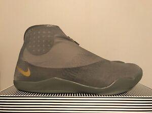 8390850aa2c4 Nike Kobe 11 XI ALT Tumbled Grey Metallic Gold Multicolor SZ 14 ...