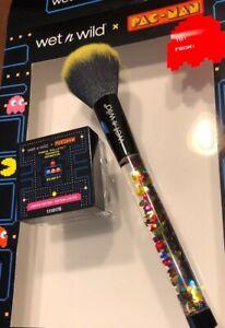 Wet-n-Wild-X-PAC-MAN-Waka-Waka-Waka-Powder-Brush-amp-Pellet-Bronzer-New