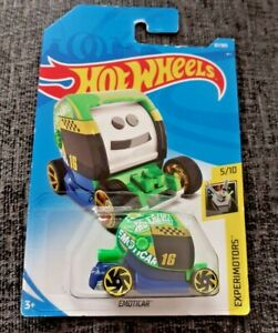 Mattel-Hot-Wheels-emoticar-experimotors-Nuevo-Sellado