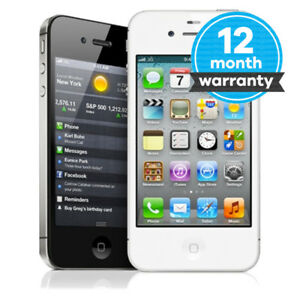 Apple iPhone 4s - 8GB 16GB 32GB 64GB - Unlocked SIM Free Smartphone