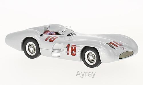 IXO GTM122, MERCEDES W196 R STREAMLINER No18 GP MONZA 1955, J M FANGIO
