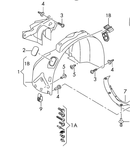 Audi Rs4 Wide Body Kit