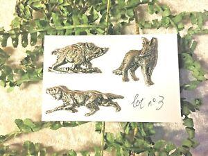 Lot-n-3-3-pin-039-s-chien-de-chasse-renard-sanglier