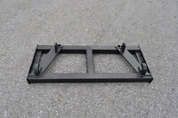 Euro Global Double Hay Bale Spear Attachment Frame Only