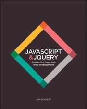 JavaScript and JQuery : Interactive Front-End Web Development by Jon Duckett (2014, Paperback)