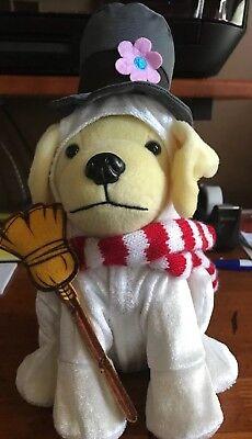 Raising Cane/'s  Plush Dog 2018 Christmas Frosty the Snowman