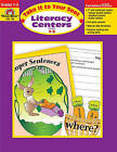Literacy Centers Grades 1-3 by Evan-Moor Educational Publishers (Paperback / softback, 2001)