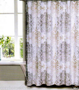 Tahari Home Collection Damask Medallion Luxury Fabric