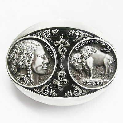Western Cowboy//Cowgirl Rodeo Decor Engraved Antique Silver//Gold Buckle Sets 2
