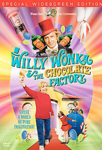 Willy Wonka and the Chocolate Factory (DVD, 2001, Widescreen 30th Anniversary)