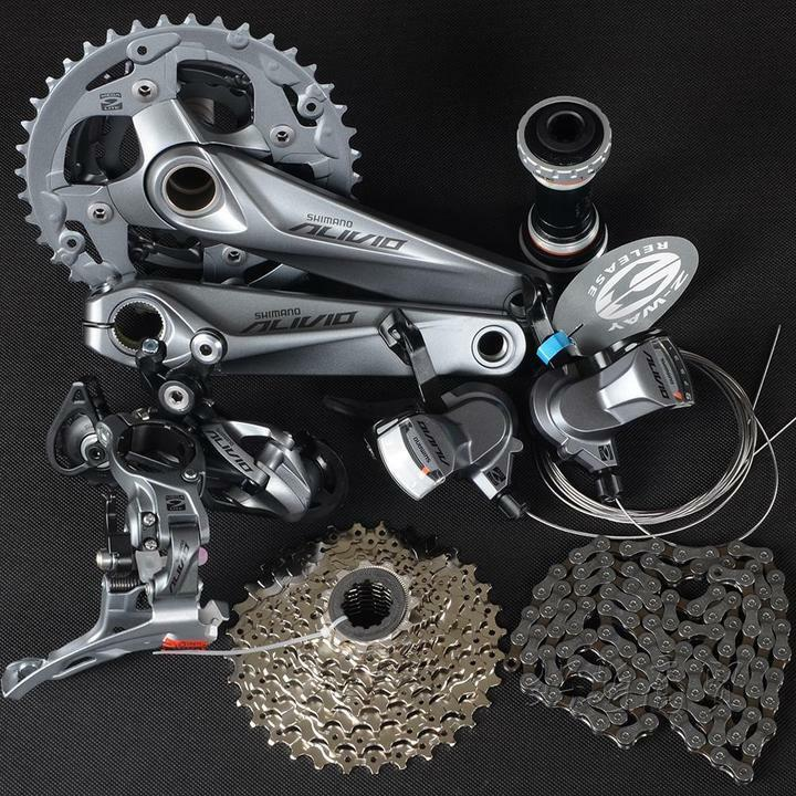 New SHIMANO Mountain  Bike ALIVIO M4000 Group Set 3x9 27 Speed 7 pcs Crank 175MM  low 40% price