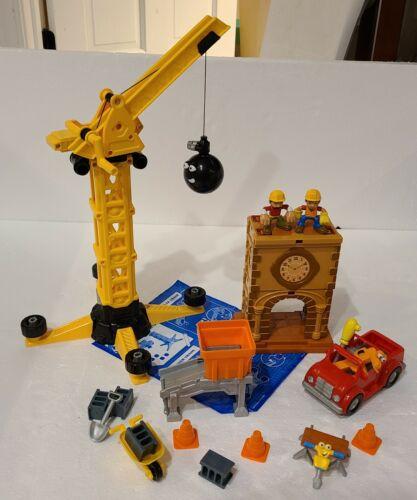 Construction Playset 100/% Complete Handy Manny Big Construction Job