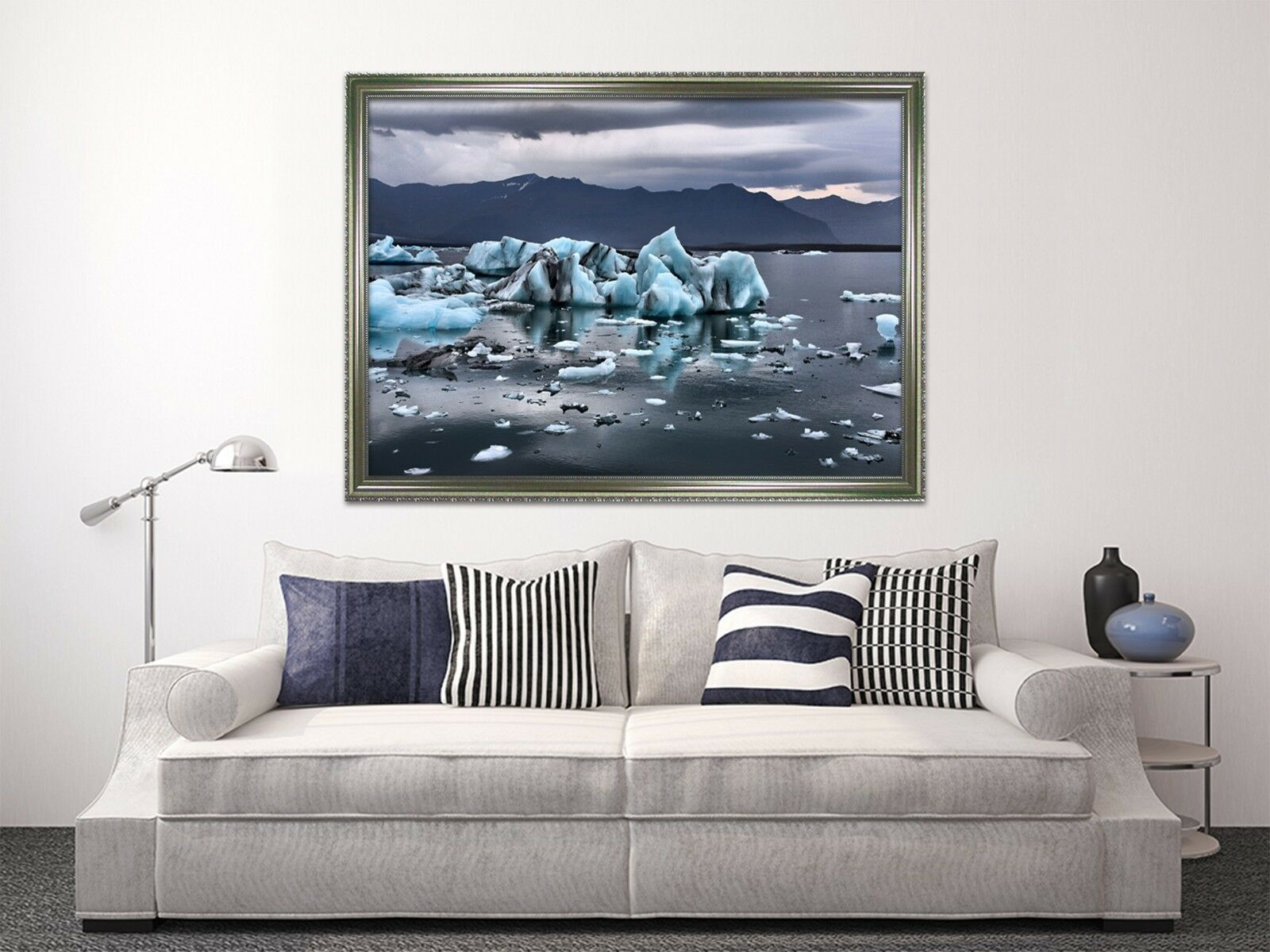 3D Melting Ice 52 Framed Poster Home Decor Print Painting Art AJ WALLPAPER