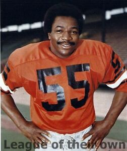 outlet store 26e77 b987e Details about CFL 70's BC Lions Carl Weathers Apollo Creed Rocky Color 8 X  10 Photo Free Ship