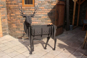 Details about DXF file CNC Plasma Laser cutting Deer BBQ GRILL