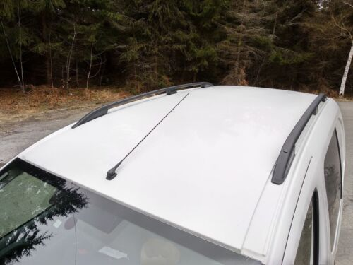 FIAT FIORINO onwards 2008 STYLISH ALUMINIUM ROOF RAIL BARS RACK BLACK COLOUR NEW