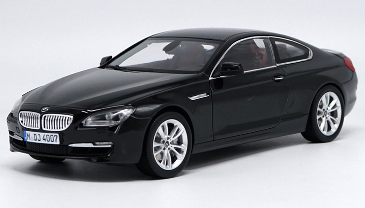 1 18 BMW d'origine  constructeur, noir BMW Alliage 650i Modèle De Voiture Cadeau Collection  des prix moins chers
