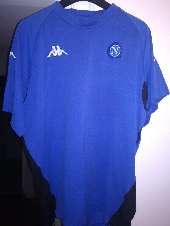 Maglia Shirt Camiseta Maillot Trikot Napoli soccer 2005 training xl
