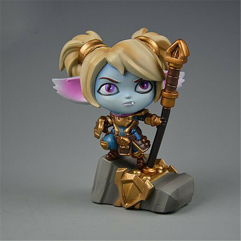 LOL League of of of Legends The Iron Ambassador Poppy Action Figure PVC Model Gift Toy 16e707