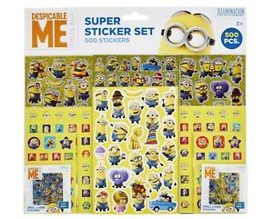 Pyramid Ps7269-500 Aufkleber Pcs. Minions Despicable Me Realistisch Super Sticker Set
