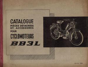 Catalogue-de-pieces-detachees-PEUGEOT-BB3L-3-L-mobylette-1964