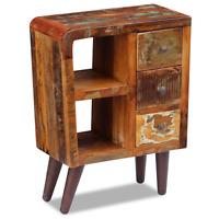 Wooden Sideboard Solid Reclaimed Wood 3 Storage Drawer Handmade Furniture Office