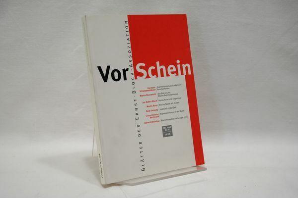 VorSchein Nr.16 : Blätter der Ernst-Bloch Assoziation