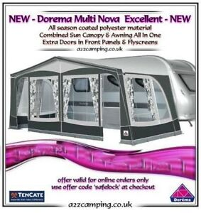 SIZE 13 NEW 2020 DOREMA MULTI NOVA EXCELLENT FULL CARAVAN ...