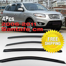 Smoke Window Sun Vent Visor Rain Guards 4P K004 For HYUNDAI 2006-2012 Santa Fe