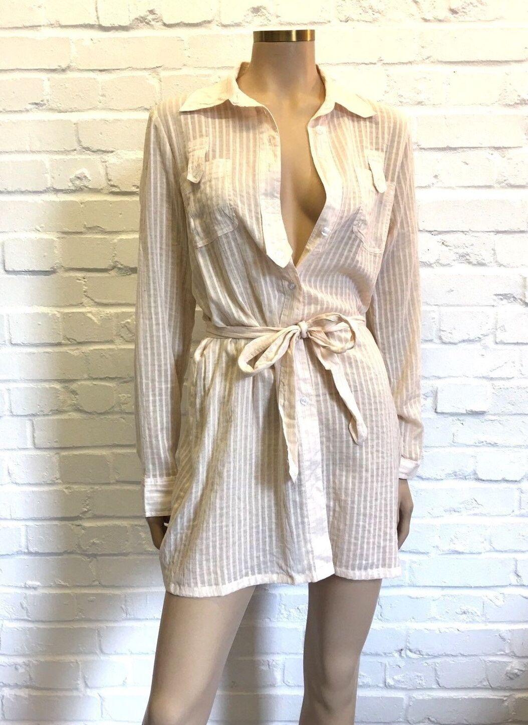 XXS 100% Cotton Stunning Military Style Shirt Dress Dress Dress Größe M | eine breite Palette von Produkten  | Erschwinglich  | Ruf zuerst  54a45e