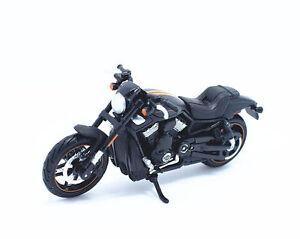 Maisto-1-18-Harley-Davidson-2012-VRSCDX-Night-Rod-Special-Bike-Motorcycle-Black