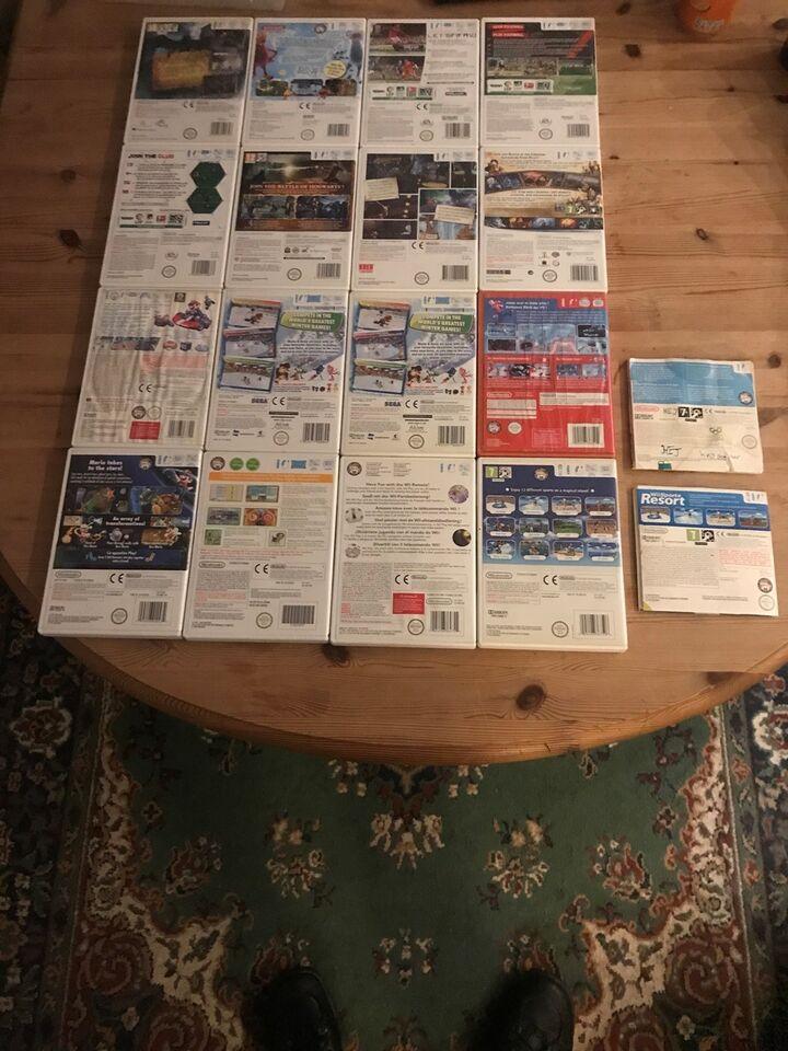Spil sælges, Nintendo Wii