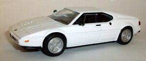 ATLAS 1/43 Scala Die-cast metal model-bianco BMW M1