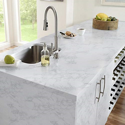 Marble Contact Paper Gloss Vinyl Self-Adhesive Marble Sticker Kitchen  Cabinet US 707516138158 | eBay