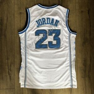 huge discount 92bf2 22d37 Details about Vintage stitched Nike Michael Jordan UNC North Carolina Tar  Heels Jersey/ Shorts