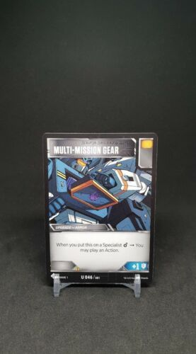 Transformers TCG Wave One Uncommon Rare Common Cards