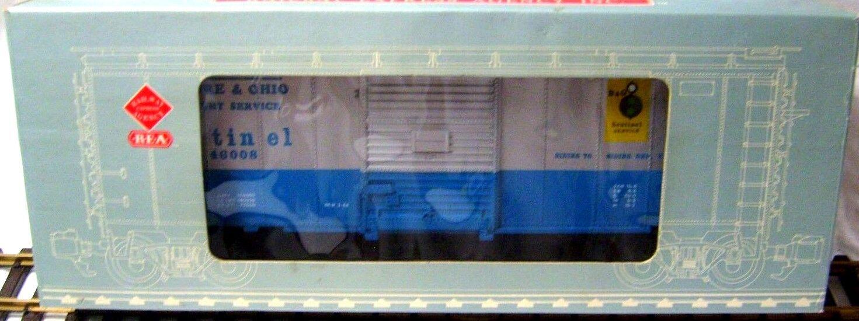 REA 46008 BALTIMORE & OHIO  BOX CAR