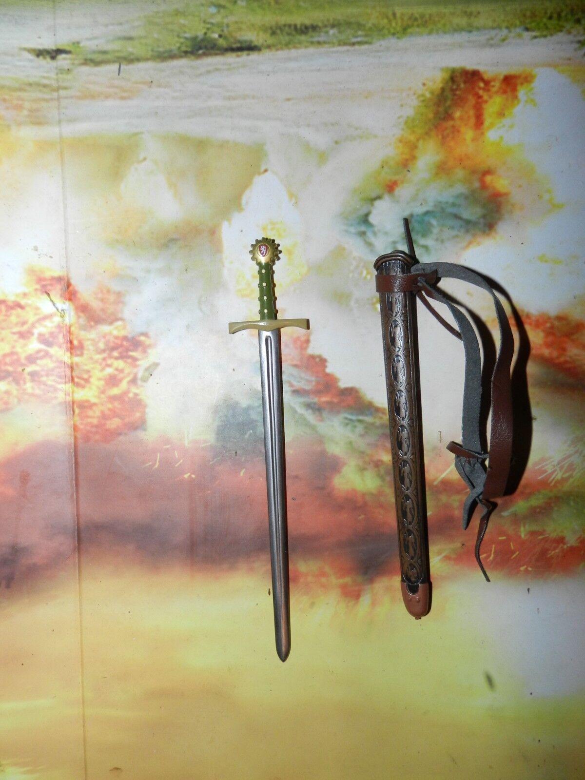 1 6th SCALE, IGNITE MEDIEVAL SWORD METAL (WOOD)
