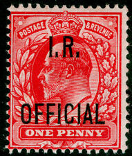 SgO21, 1d scarlet, UNMOUNTED MINT. Cat £20+.
