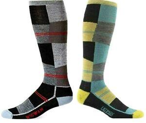 Wigwam Knee High Ski Sock Snow Cube Pro Merino Wool USA F6165