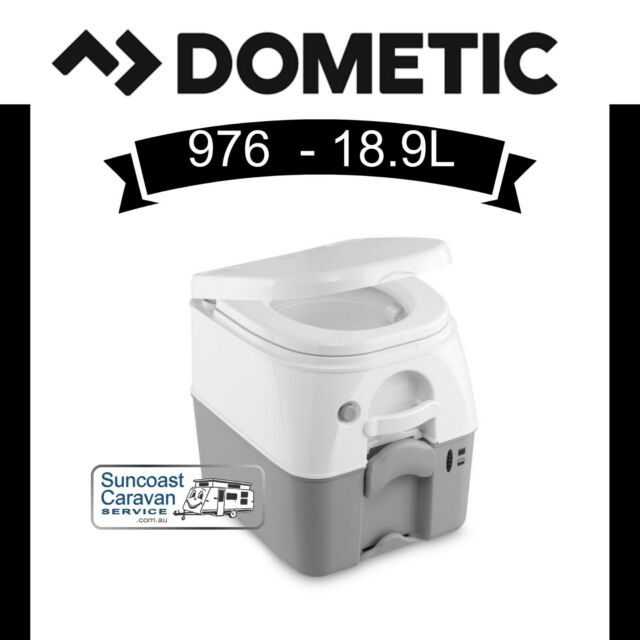 Dometic Sanipottie 976 Portable Toilet for Caravans Camping Boats Motorhomes RVs