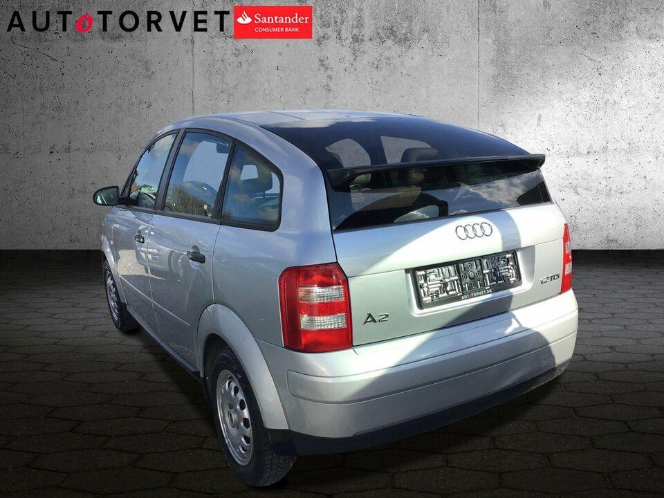 Audi A2 1,2 TDi 3L Tiptr. Diesel aut. modelår 2005 km 237000