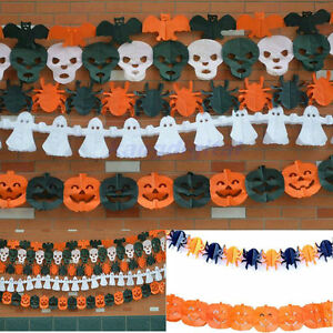 New-5Styles-Halloween-Decorations-Paper-Garland-Hot-Decor-For-Halloween-PropsNew