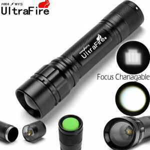 20000LM-Ultrafire-3-Modes-T6-LED-Flashlight-Zoomable-Super-Bright-Torch-Lamp
