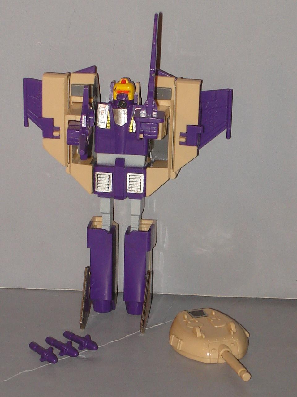 G1 Transformer Decepticon Triple Changer Blitzwing  Original  Completo Lote   5