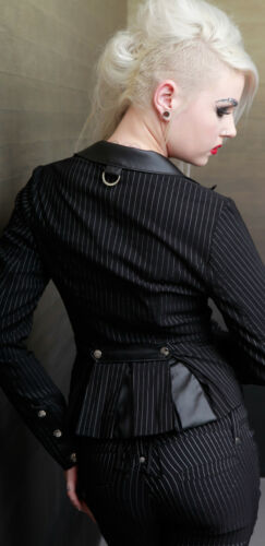 LIP SERVICE JACKET BLAZER ROCKABILLY SHIRT TATTOO PIN UP GOTHIC GOTH EMO COAT