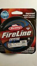 BERKLEY  FIRELINE  10 lb 300 YARDS SMOKE COLOR