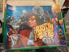 STERN AUSTIN POWERS PINBALL MACHINE NOS TRANSLITE. PINBALL PART